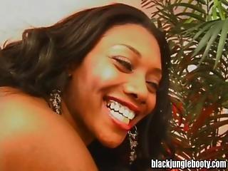 Nyomi Banxxx Has A Black Jungle Booty