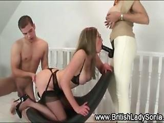 Mature Fetish Milf Sucks Strapon