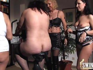 tysk, matur, orgie, lejetøj