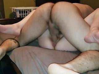 Amateur Wife Cumslut Cumming On Cock And Getting Cum On Her Face - Facial