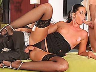Larissa Dees Threesome Fantasy Fuck