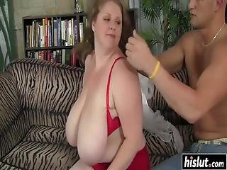 Naughty Bbw Sapphire Sucked A Stiff Shaft Before She Got Her Pussy Banged