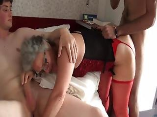 Grandma With Teens