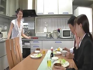 Japanisch Alt Jung Ehefrau