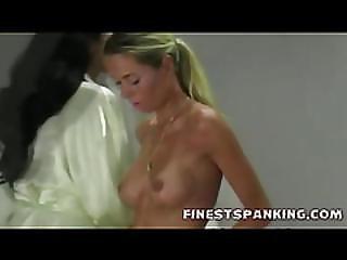 Hot Vintage Spanking Girls