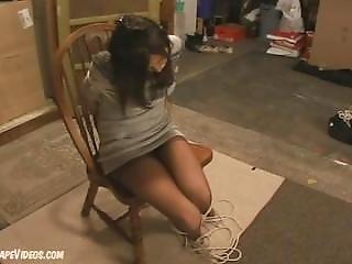 Jenny Tape Gag Pantyhose