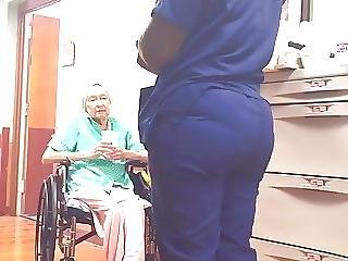 Incredible Nurse Booty