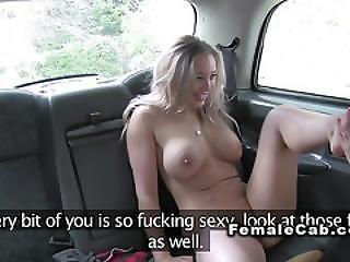 Female Fake Taxi Driver Has Lesbian Sex