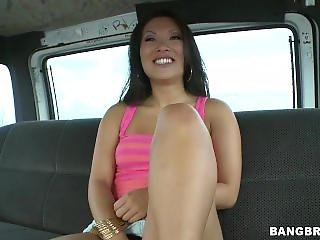Asian Pornstar Asa Akira Rides The Bangbus! (bb9972)