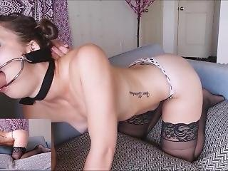 Fuck My Face & Ass: Bondage Facefucking & Anal