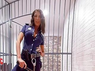 Vr Porn - August Ames Get Fucked Hard In Prison