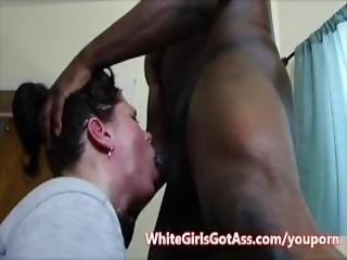 Blowjob Becky Blowing Big Black Cock