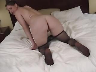 cul, bonasse, gros cul, gros téton, black, brunette, solo, étroite
