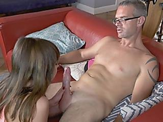 Celestine Leaves Baby Alone And Gets Fucked Hard By Her Hunky Boss