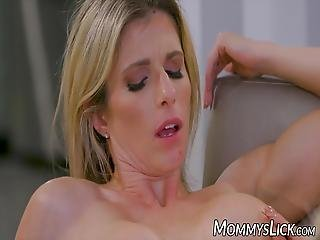 Dyke With Big Boobs Loves Fucking With Her Sluty Daughter
