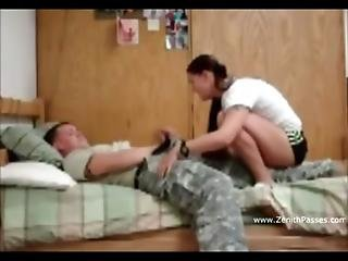 Us Army Guy Homemade Sextape