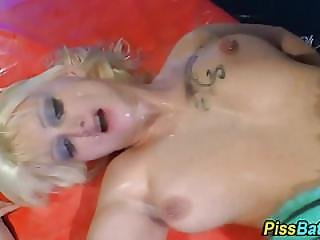 Lingerie Slut Perkys Piss