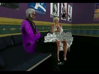 Elvis Meets Marilyn