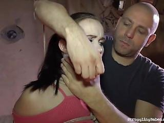 Ally Style Bound Gagged Ass-slapped Whipped Vibed