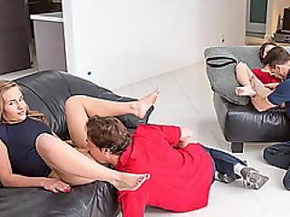 Dads Spanking Asses Seems To Have An Erotic Effect On Them