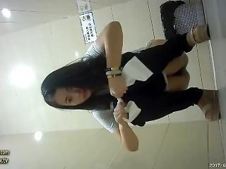asiati, japonské, krejské, chanky, chcaní, veřejné, skutečnost, Mladý Holky, záchod, webkamera