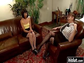 Δεμένη πορνό Ebony