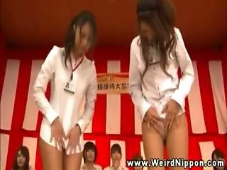 Asian Babe Bound Then Toy On Her Pussy