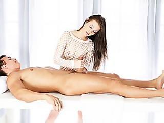 Hot Masseur Alexis Venton Sucks Talon Cock Down Her Throat