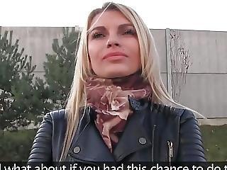 Gorgeous Model Fucks For Money