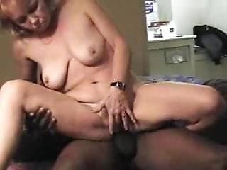 Dirty Mature Gets Gangbanged