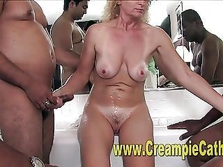 ερασιτεχνικό, cream, creampie, ομαδικό, διαφυλετικό, milf