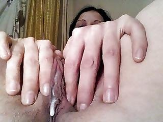 Hot Close Up Creamy Pussy Juice To Orgasm Part 2
