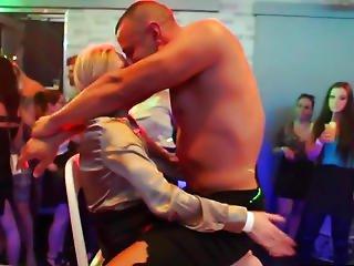 Euro Party Honey Spitroasted In Fuckfest