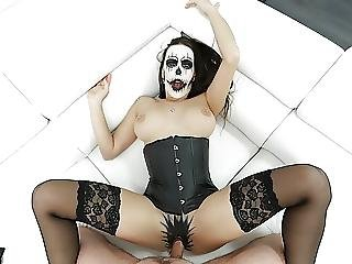 Povbitch - Halloween Special With Anal Monster Mea Melone