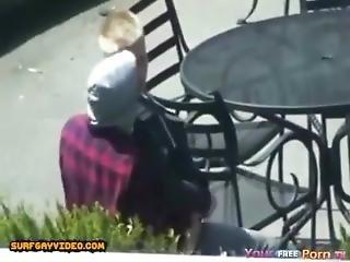Ska8er Couple Fuck In Public