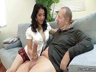German Monster Cock Fuck Hairy Teen