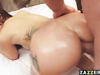 Mandy Gave Jordans Dick A Messy Deepthroat Blowjob
