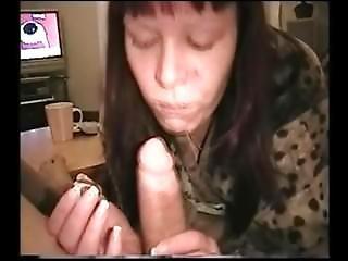 Eating Food Of Cock Cumshot