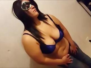 Big Tit Latina Lauren Mae Give Strip Tease