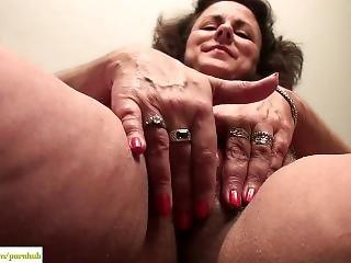 Grandes Mamas, Morena, Arbusto, Masturbação, Madura, Abrir, Esposa