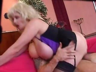 Bozena - Big Tits Floppy Hangers Assfucked In Stockings