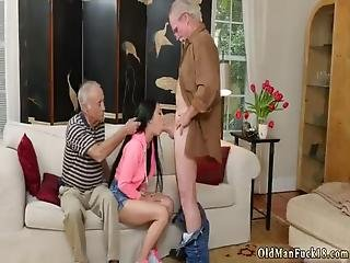 Old Man Footjob Dukke Put Out An Ad And Got A Response.
