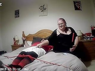 Footballer Cuffed To Bed Tortured And Fucked By Femdom Part 1 Of 2