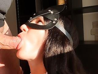 My Housemaid Is So Good She Even Cleans My Cock