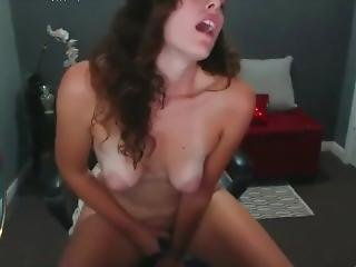 Blue Eyed Babe With Puffy Nipples Pussy And Anal Masturbate