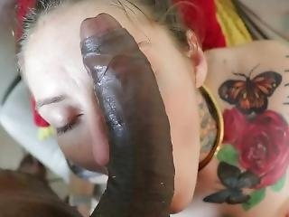 Cam After Party White College Coed Sucks Black Mma Fighters Bbc