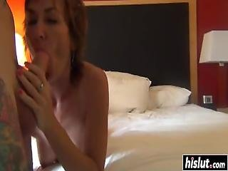 Hot Gilf Gets Plowed In Various Positions