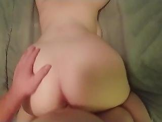 Natural Big Tit Teen Swallows After Getting Fucked