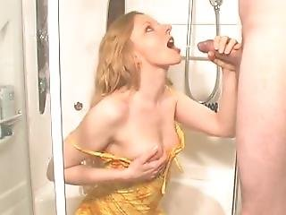 Piss Drinking - All Over Her New Dress