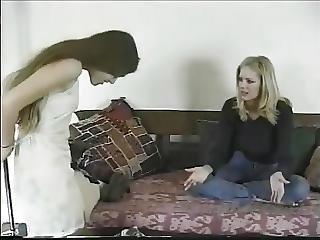 Jennifer Avalon - Dress Up Lesbian On Couch